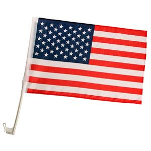 USA Car Flagga