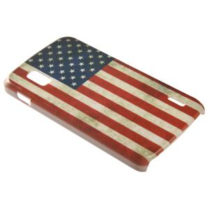 Google Nexus mobilskal med USA flagga