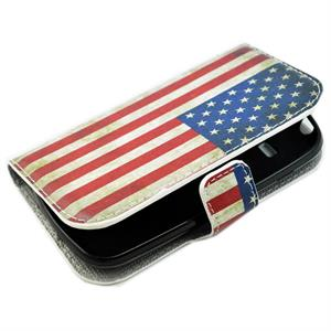 Samsung Galaxy S3 mini fodral med USA flaggan