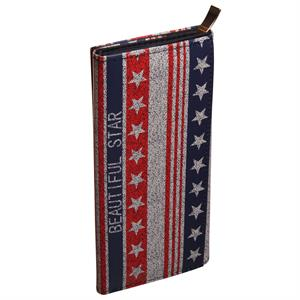 Clutch med Stars and Stripes