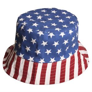 Solhatt med Stars and Stripes