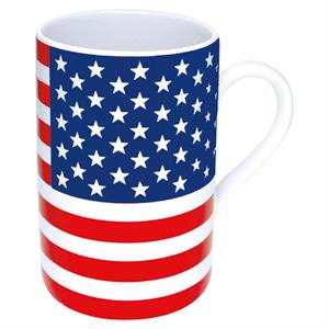 Mugg med Stars and Stripes, porslin