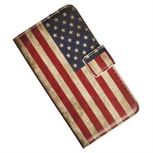 LG Optimus G2 Etui, patinerat med  USA´s  flagga.