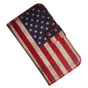 Samsung Galaxy S3 mini med USA flagga