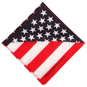 Stars and Stripes sjal, Made in USA