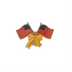 Support troops USA twin pin