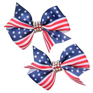 Hårspännen med Stars and Stripes, 2-pack
