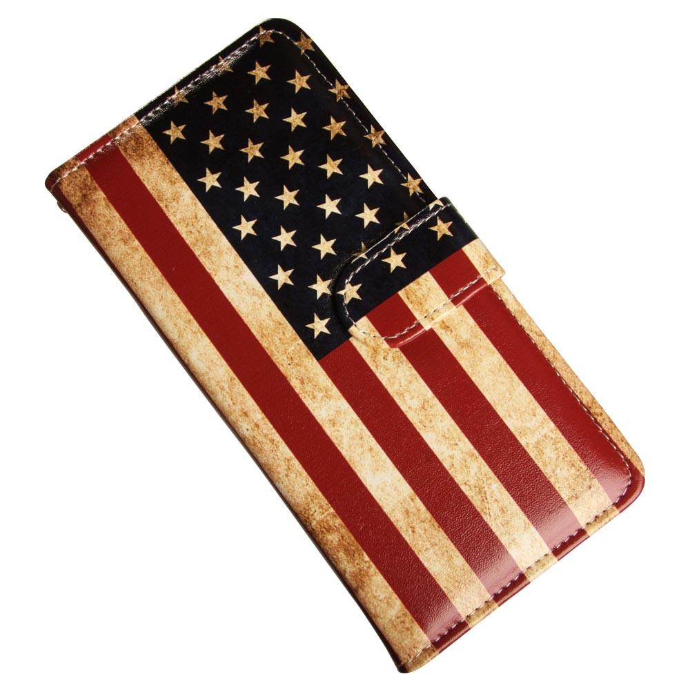 Samsung Galaxy Note 9 lyxfodral med Stars and Stripes