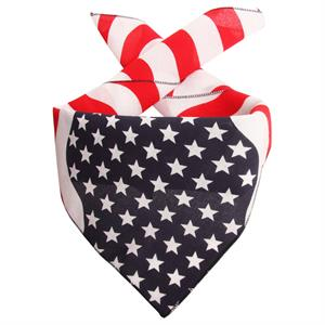 Bandana med Stars and Stripes - Made in USA
