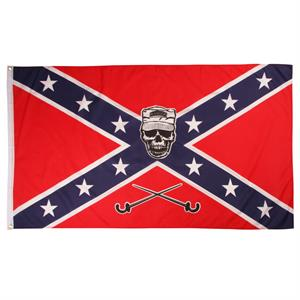Rebel Flagga med Soldier Scull 150 x 90 cm