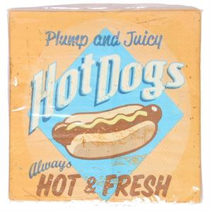 Servetter, Plump and Juicy Hotdogs - 20 pack